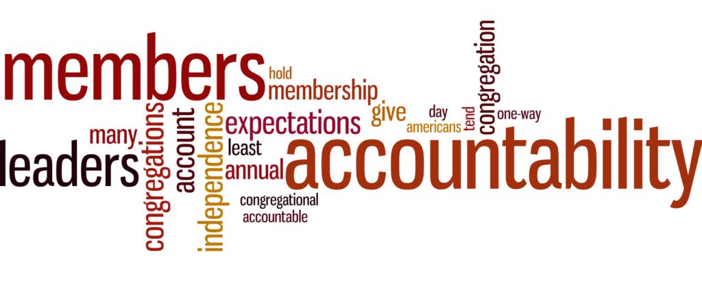 Membership - Accountability word picture