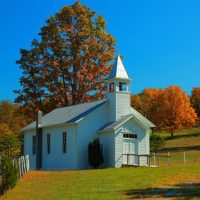 Country-church-bright-sunny-autumn-day_-_West_Virginia_-_ForestWander