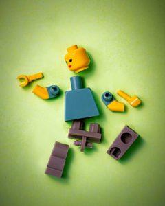 broken Lego man